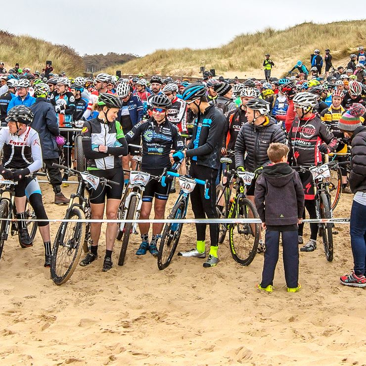 My battle on the beach cyclocross racing