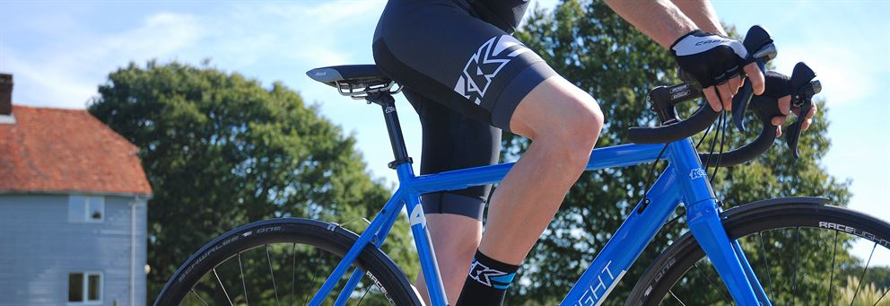 Race season bib shorts from Kinesis UK
