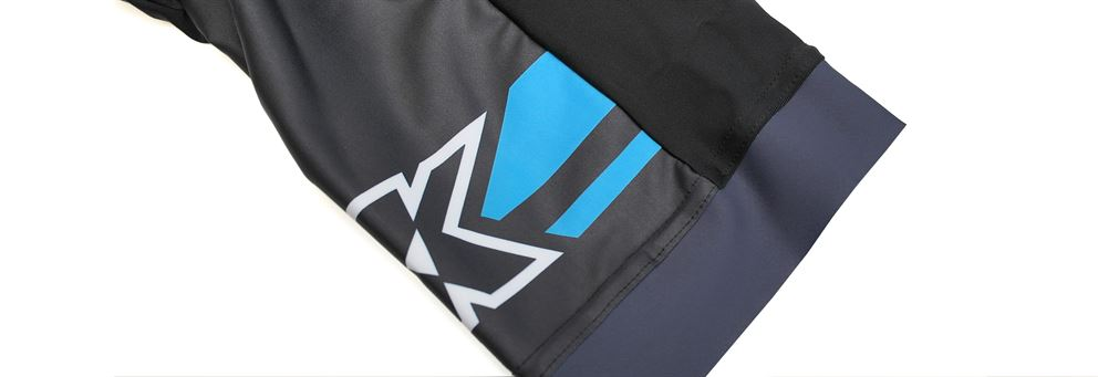 Kinesis UK race bib shorts leg detail