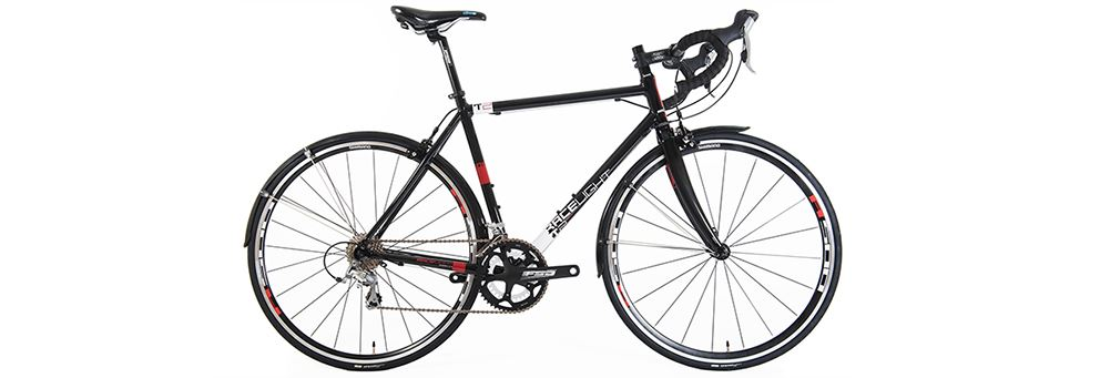 Black Kinesis Racelight T2 bike