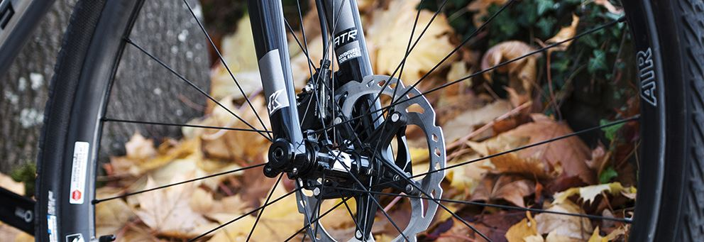 Kinesis ATR disc thru axle fork for Tripster ATR V2 bikes