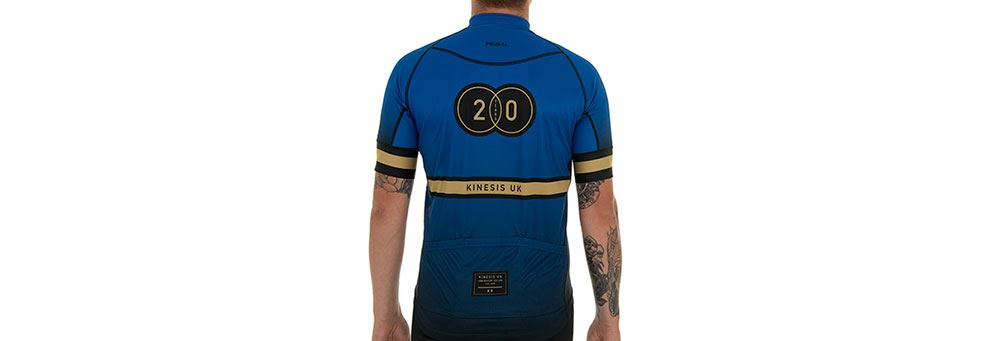 Kinesis 20YRS Jersey - Lycra Road Cycling Top