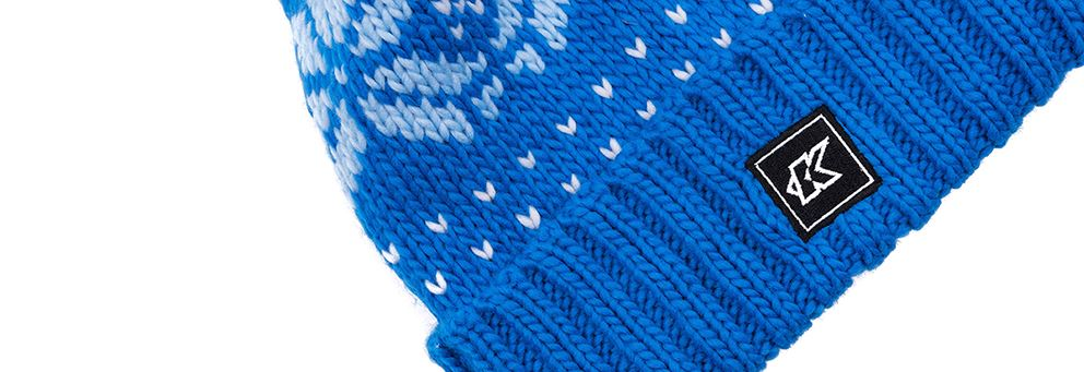 Kinesis 'K' Bobble Hat