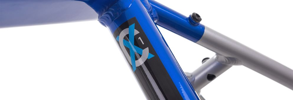 Blue CX1 cyclocross frame