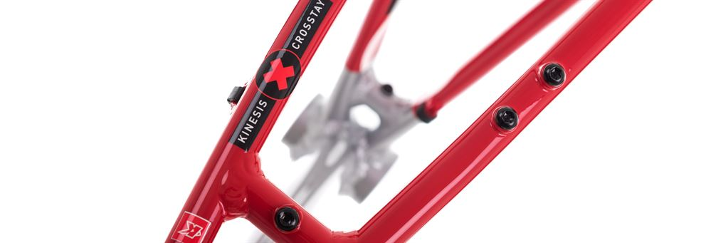 red Kinesis CX1 frame