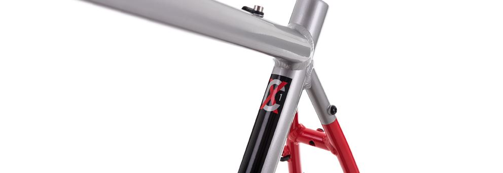 red CX1 frame