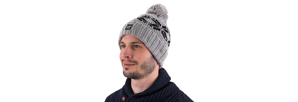 Kinesis bobble hat