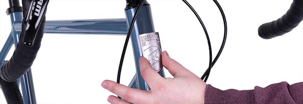 Kinesis Bikes Head Badge