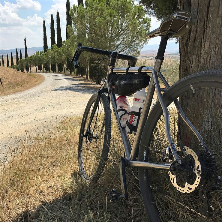 The Tuscan Grind - Tripster ATR Kinesis Bikes UK